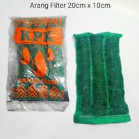 Arang Filter Carbon 20x10cm Aquarium Kolam