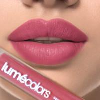 Lipstik Cair Lumecolor Velvet Lip coat Color Matte Kissproof No Crack - ARM CANDY