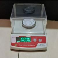 Timbangan lab analitik 300gr x 0,001gr/ NEWTECH NT-A 300 EMAS