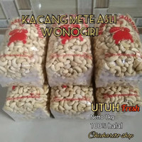 kacang mede kacang mete mentah fress 1kg