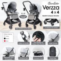 Cocolate Baby Stroller - Verzza 4x4 Reversible / Kereta Dorong Bayi - Grey