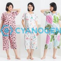 CELANA PENDEK baju tidur wanita setelan piyama wanita dewasa katun - MOTIF APA SAJA