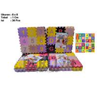 Evamat Abjad Mini 8x8 isi 36pcs / Mainan Edukasi / Puzzle Lantai