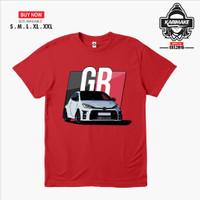 Kaos Baju Mobil TOYOTA YARIS RAIZE GAZOO RACING Kaos Otomotif - KRMK
