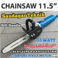 Chainsaw Chain Saw Mini Gerinda Set Mesin Gergaji Potong Kayu Set