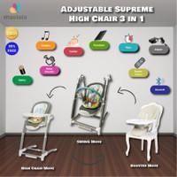 MASTELA Baby Swing - Adjustable Supreme High Chair - Booster Seat
