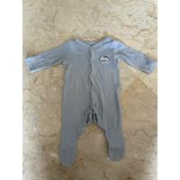 Preloved-sleepsuit bayi MOTHERCARE 1mo fit to 3mo (baju bekas murah)