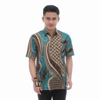 baju batik pria murah bagus - kode RV, 6XL