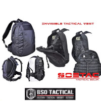 SOETAC Tactical Backpack Invisible Vest 2 in 1 Military Bag