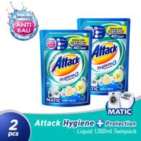Attack Hygiene Plus Protection Liquid 1200 ML Twinpack