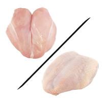Dada Ayam Filet 1Kg FRESH SEGAR - Polos/Kulit (Fillet-Giling-Slice)