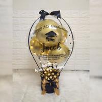 balloon box ferrero/balloon bouquet/graduation/wisuda/birthday