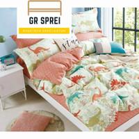 Sprei Set Bed Cover Anak Katun Jepang Original size 140x200 T.30cm