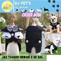 baju anjing dan baju kucing prince tuxedo