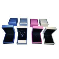 Jewelry Box / Kotak Liontin dan Anting Mewah Tersedia Tiga Warna