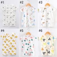 Jumper Romper Kancing Baju Terusan Bayi - Newborn Baby Jumpsuit A5-21 - 1, 66