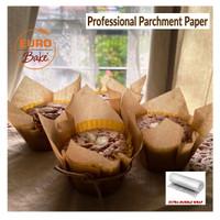 30x40 cm Premium Baking Parchment Brown Paper Jerman (42 GSM - TEBAL)