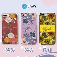 Custom Case HP - Iphone Samsung Oppo Vivo Xiaomi - Flower Series II