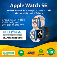 (IBOX) Apple Watch Series SE 2020 44mm 40mm Nike Garansi Resmi 44 40