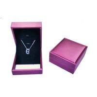 Jewelry Box / Kotak Liontin dan Anting Mewah Tersedia Tiga Warna - Merah