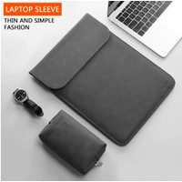 Laptop Asus ZenBook Pro Duo UX581 14 Inch Sleeve Leather Tas Mousepad
