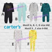 Sleepsuit Carters Carter Carter's - Baju Tidur Bayi Branded 6M 6 bulan