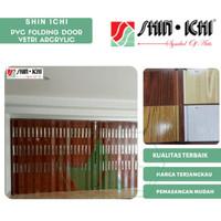 Pintu PVC Folding Door Shin Ichi Pintu Lipat Penyekat Ruangan Vetri 3m