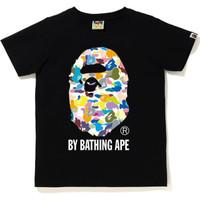 Bape Kids Multi Camo By Bathing Ape Tee - 100