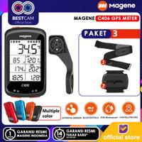 Magene C406 GPS Meter GPS Heart Rate Computer Wireless MTB Road