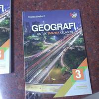 Buku SMA Kelas 12 Erlangga Esis geografi ekonomi sosiologi ppkn agama