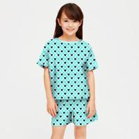baju setelan anak perempuan model lv umur 6-12 tahun/ stelan anak lv