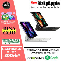 "Apple Magic Keyboard for iPad Pro 2021 M1 12.9"" & 11"" Black White 2020"