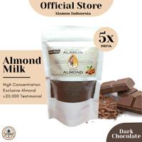 Susu Almond (حلال) Halal. Asi boster dan nutrisi untuk semua