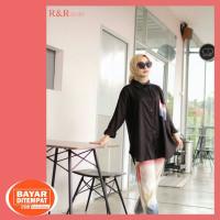 Baju Setelan Wanita Dewasa Terbaru Bahan Katun Rayon Allsize fit to XL - Magenta