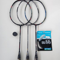 Apacs Carbo Power 505 & 16   Raket Badminton Apacs 35lbs Original