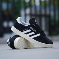 Sepatu Casual Original ADIDAS GAZELLE SUPER BLACK WHITE