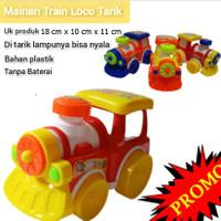 Mainan Kereta Tarik Berjalan Dan Lampu LT 68 - Train