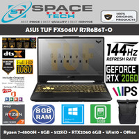 Asus TUF A15 FX506IV-R7R6B6T - R7-4800H 8GB 512GB RTX 2060 6GB 144Hz