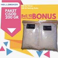 Paket CO2 Cisod ( Citric Acid - Baking Soda ) Aquascape - 100 Gram
