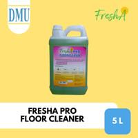 Sabun Cuci Lantai Fresha Pro Floor Cleaner Jerigen 5L