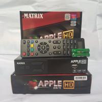 DVB T2 MATRIX APPLE GARUDA FULL HD SET TOP BOX ANTENA UHF