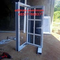 jendela aluminium ornamen 50x100