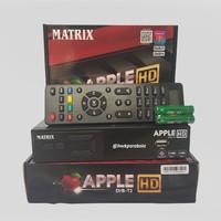 DVB T2 SET TOP BOX TV DIGITAL ANTENA UHF MATRIX APPLE GARUDA HD TERBA
