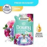 Downy Pelembut & Pewangi Pakaian Fresh Bouquet Refill 550ml