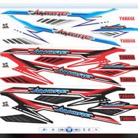 Striping mio sporty Variasi Amore Kode : AGM006