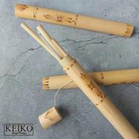 Fuki - Paket Sedotan Sikat Bambu / straw bamboo