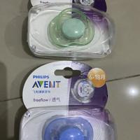 Original Dot pacifier empeng Philips Avent single pack 1pcs 6 18 month