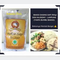 Bakso Sapi Son Hajisoni 350 gram / Bakso Soni / Bakso Sony - Lampung