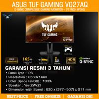LED ASUS TUF VG27AQ 27 2K IPS 165Hz 1ms HDR 10 Gaming Monitor 27 Inch