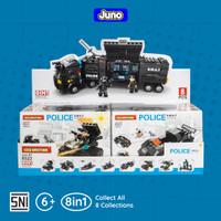 Mainan Bricks SWAT Police Team 8-in-1 Compatible LEGO | Juno 8522